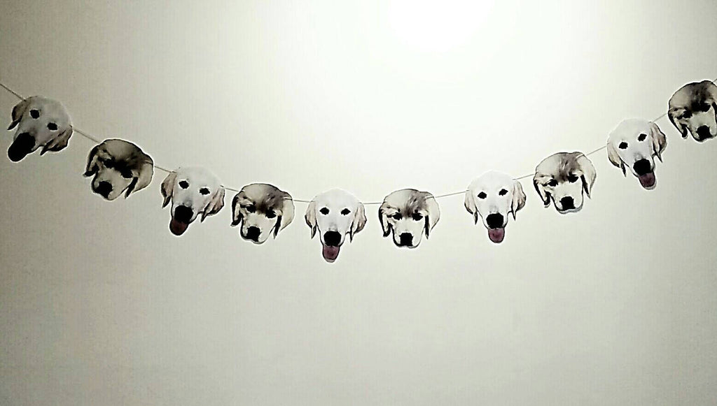 Dog face party decorations