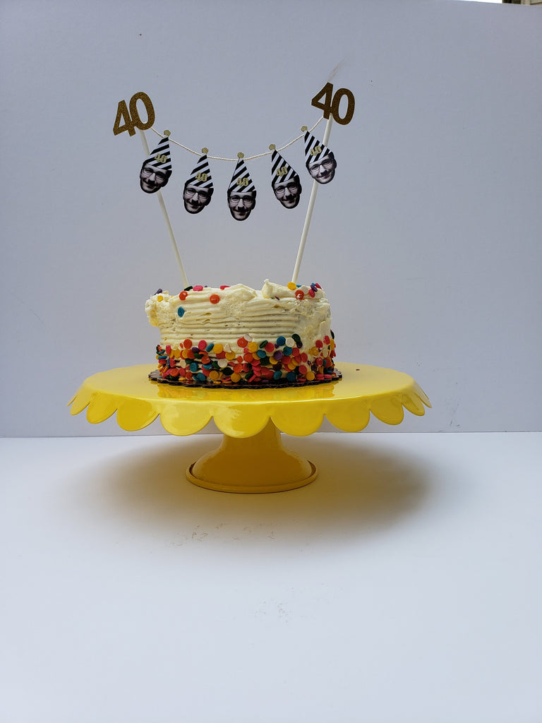 60th Birthday Cake Topper