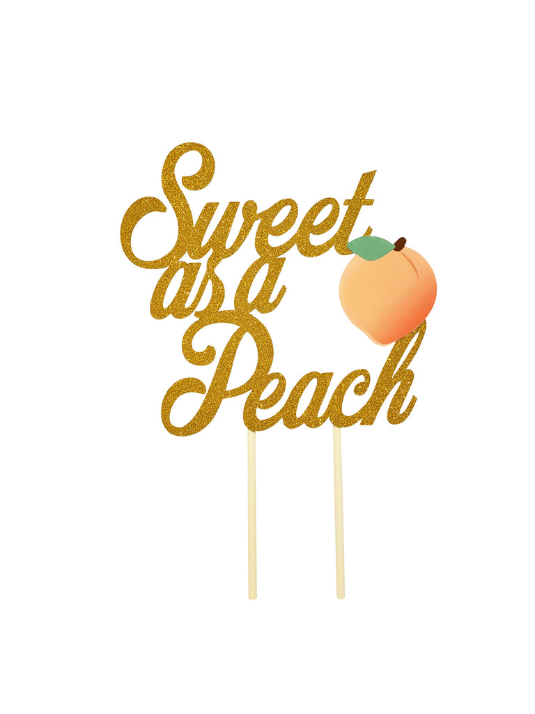 Sweet as a peach party decorations and supplies