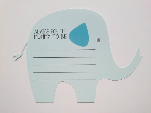 Prediction Cards for Baby Shower