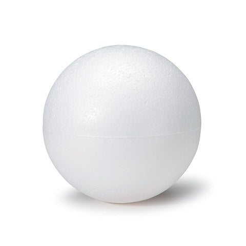 "6"" DuraFoam Ball - White-Mels Crafty Mojo LLC"