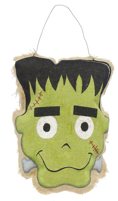 "Frankenstein Door Decor Hanger - 16""H-Mels Crafty Mojo LLC"