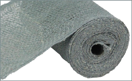 "Colorfast Loose Weave Burlap - Grey - 6"" x 10 yards-Mels Crafty Mojo LLC"