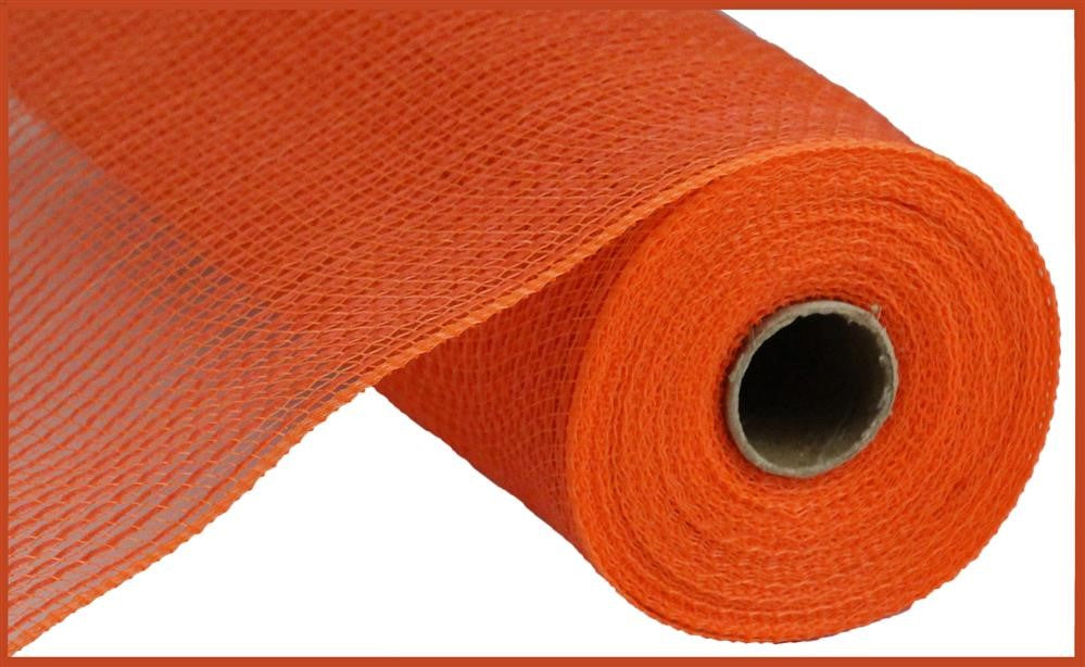 "Stripe Fabric Mesh - Orange - 10.5"" X 10YD"