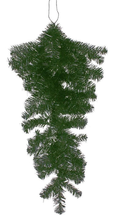"Belgium Spruce Teardrop/Swag Form - Green - 28"" H-Mels Crafty Mojo LLC"