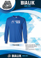 Bialik Good 2 Be Blue Long Sleeved T-Shirt