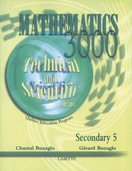 Mathematics 3000 Sec 5 Science and Technology workbook