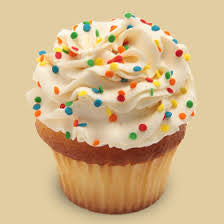 5d) Pareve Vanilla Cupcake with Sprinkles (4 times per semester) on hot dog day