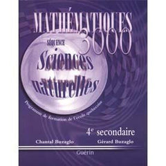 Mathematiques 3000 Sec 4 Science