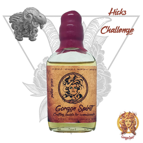 Gorgon Spirit - Hicks Challenge - 100ml Glass Waxed Bottle - Glen Moray, Strawberry, Raspberry, Hazelnut, Vanilla