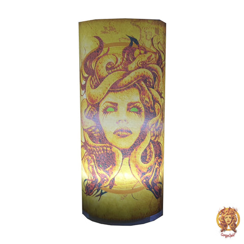 Gorgon Spirit - Night Lamp Front