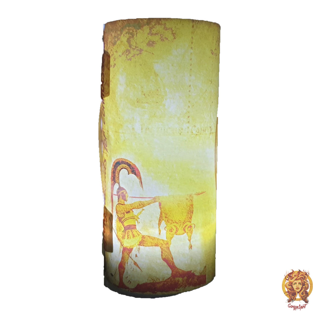Gorgon Spirit - Night Lamp Side