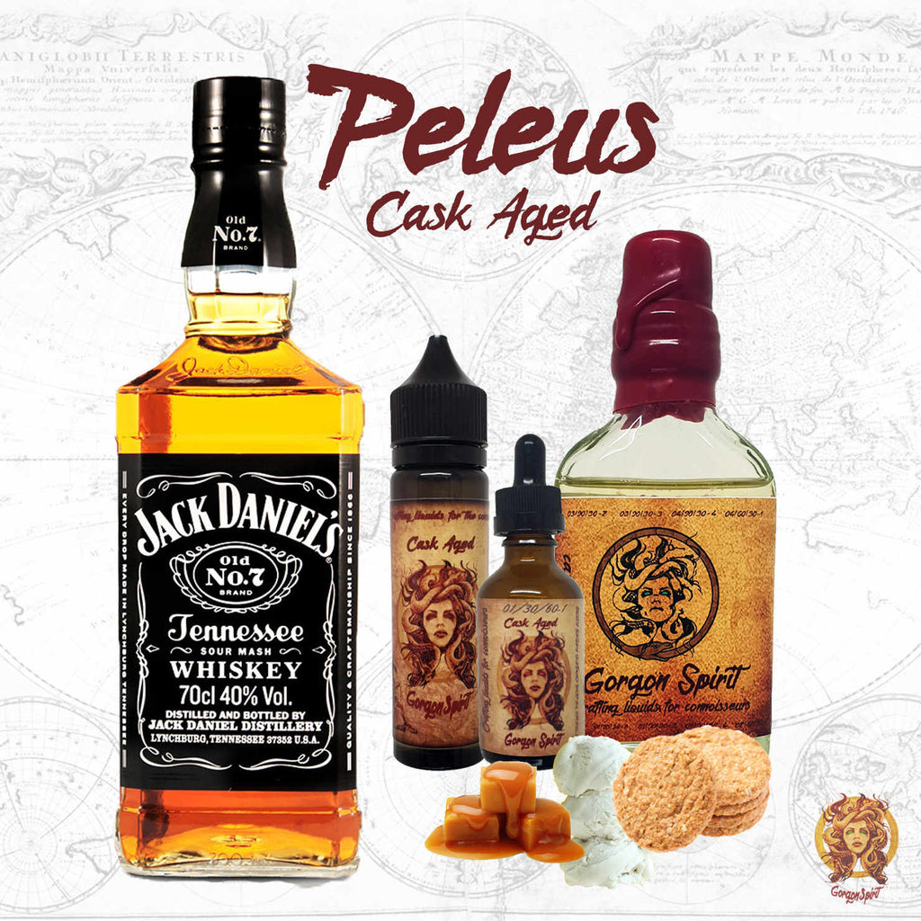 Gorgon Spirit - Peleus - Bourbon Based Cask eLiquid
