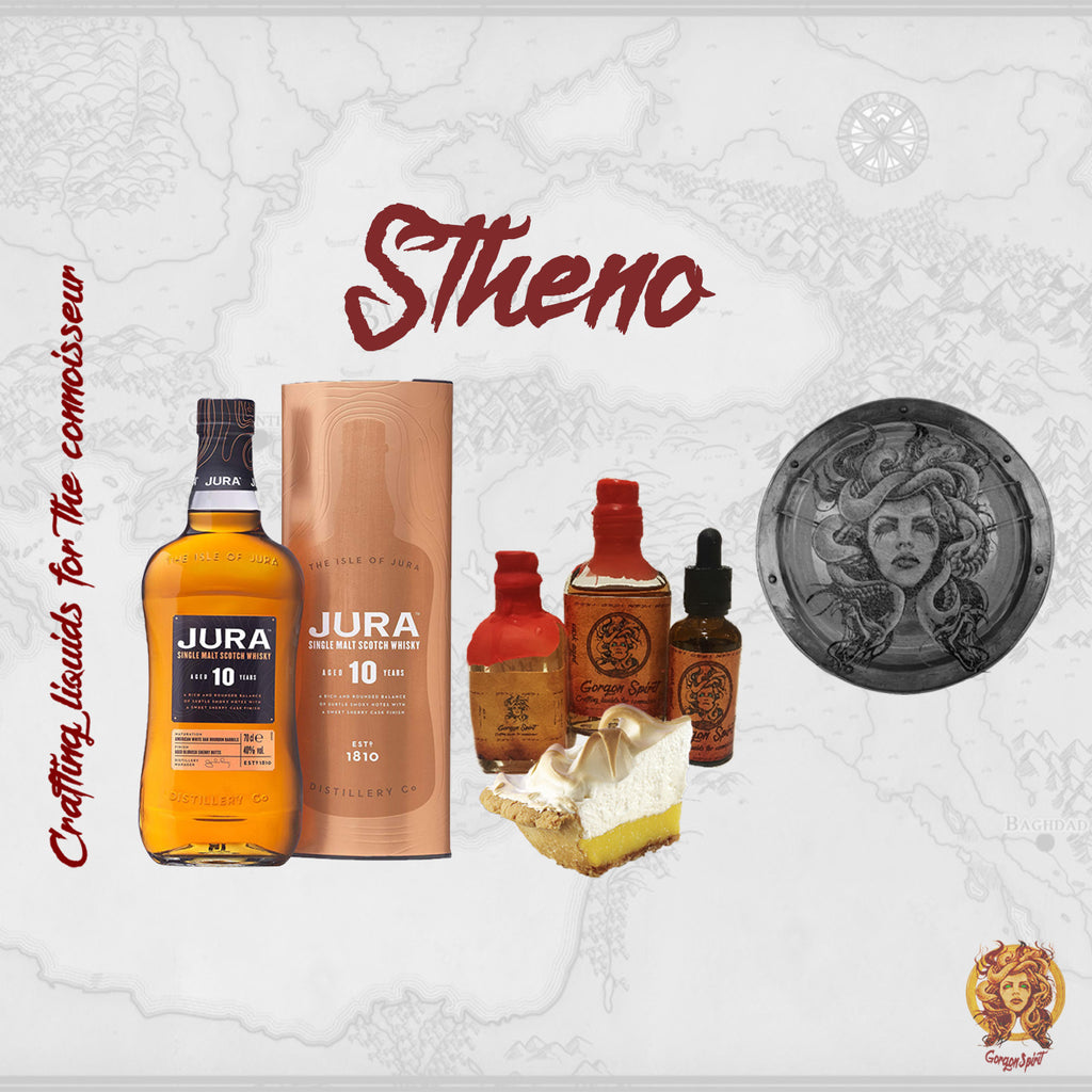 Gorgon Spirit - Stheno - Lemon and Caramel Bourbon