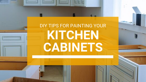 DIY Projects: Painting Kitchen Cabinets