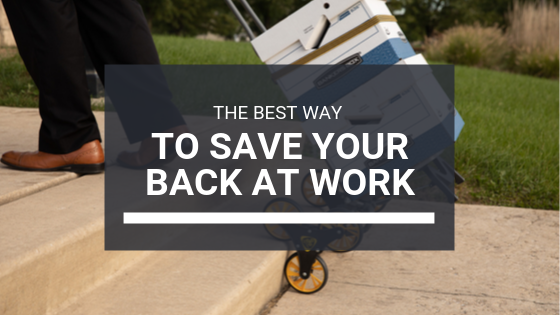 Save Your Back At Work