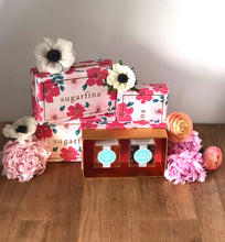 Load image into Gallery viewer, Sugarfina Floral 2 Piece Bento Box