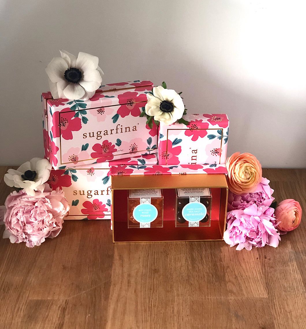 Sugarfina Floral 2 Piece Bento Box