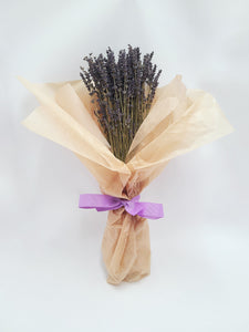 Dried Lavender Flower Posy