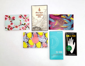 Craft Chocolate Bars Curated By The Flower Factory