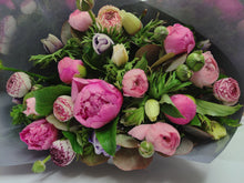 Load image into Gallery viewer, Peony, Ranunculus & Anemone Posy - Oh My!