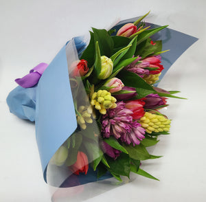 Tulip & Hyacinth Bouquet