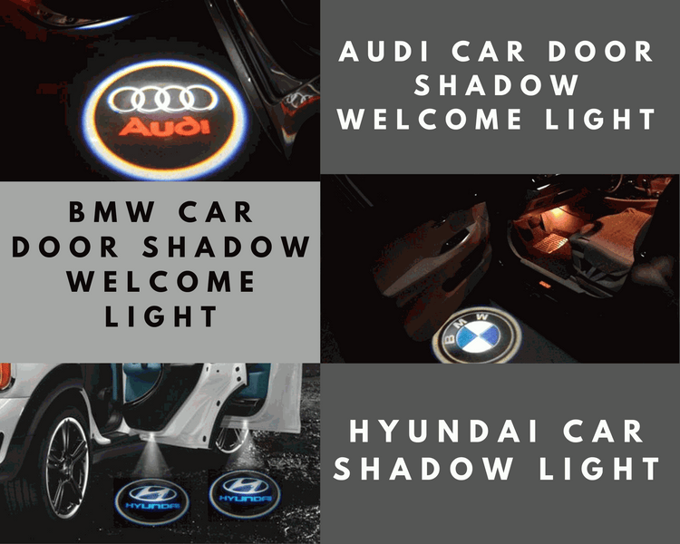 Car Shadow Light With Projector LED Logo For Cars