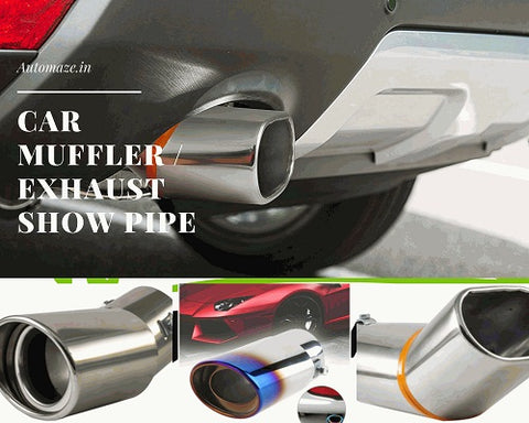car muffler or exhaust show pipe