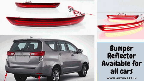 bumper reflector for car