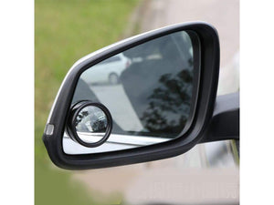 Car Side mirror along with blind spot mirror, 2 blind spot reflector