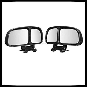 2 blind spot parking mirror in black