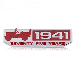 1941 logo for All Jeep in red colour