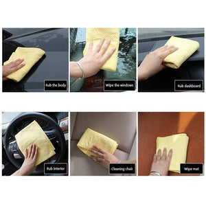 How to use chamois towel for car