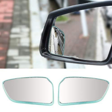 Blind spot mirror attached with car side mirror