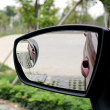 Load image into Gallery viewer, Automaze 3R 360 Degree Car Wide Angle Convex Blind Spot Mirror (2 Pc)