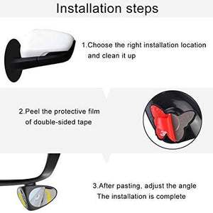 blind spot parking mirror installation guidance