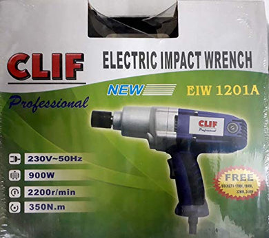 Clif Electric Impact Wrench for Car Workshops 1/2