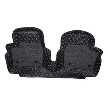 Load image into Gallery viewer, Pair of 7d mats for mahindra xuv 500 in black colour