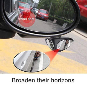 Car Blind spot mirror to check rear activity