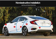Load image into Gallery viewer, Honda Civic with beading installation position