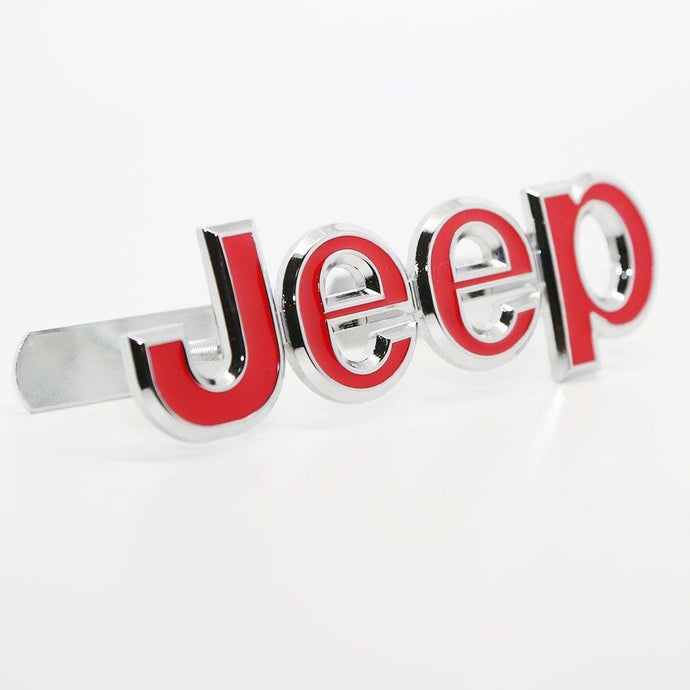 Jeep logo for car in red colour
