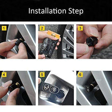 Load image into Gallery viewer, Installation step for tyre valve cap
