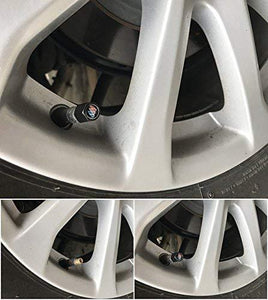 Installed tyre valve cap