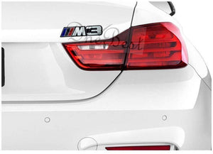 Installed M3 Sticker 3D Logo in Black Colour for Bmw Car