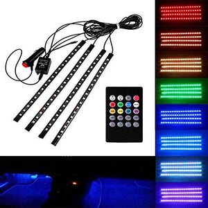 Complete Product image for Multicolour Music Car Strip Atmosphere Lamp