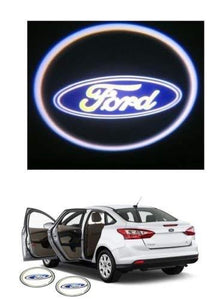 Ford Logo in Car Door Light