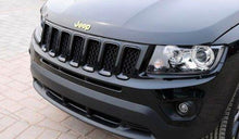 Load image into Gallery viewer, Installed Jeep Trunk Emblem Hood For Car in Gold Colour