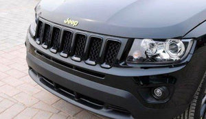 Installed Jeep Trunk Emblem Hood For Car in Gold Colour