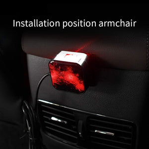 Ambient star light installation position in car
