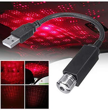 Load image into Gallery viewer, USB Atmosphere led light in Red Color for all cars